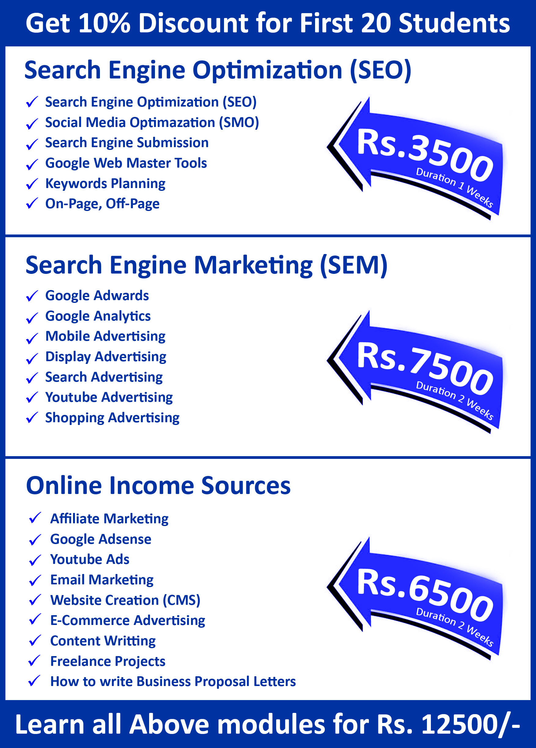 SEO / SEM Training - Srjinfoways | Vizag School of Digital Marketing